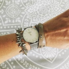 Renegade Silver Bracelet. Gwen Wrap. Cluse Watch.